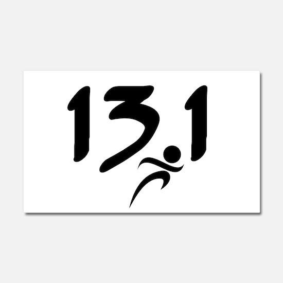 13.1 run Car Magnet 20 x 12
