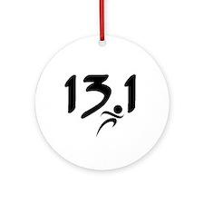 13.1 run Ornament (Round)