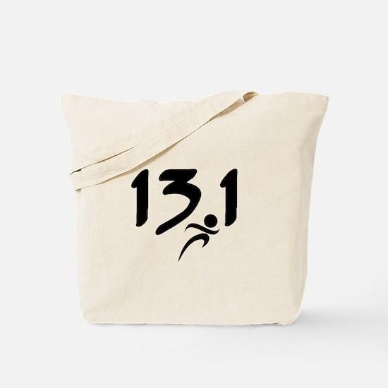 13.1 run Tote Bag