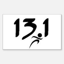 13.1 run Decal