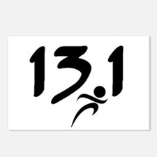 13.1 run Postcards (Package of 8)