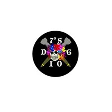 Diego Garcia Jolly Roger Mini Button (10 pack)