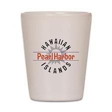 Pearl Harbor Hawaii Shot Glass