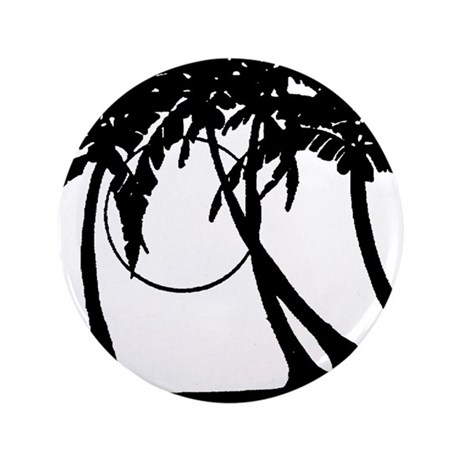 "TROPICAL {4} 3.5"" Button"