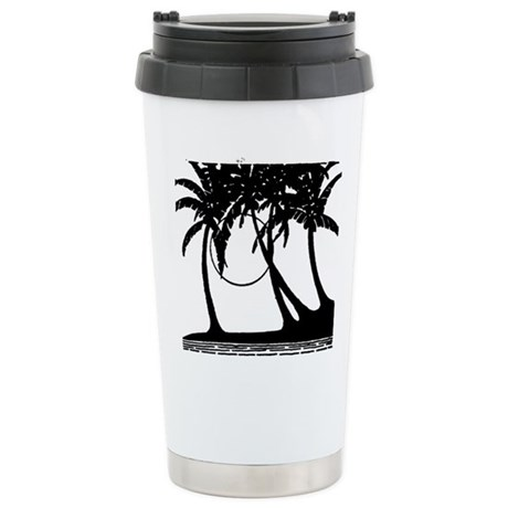 TROPICAL {4} Stainless Steel Travel Mug