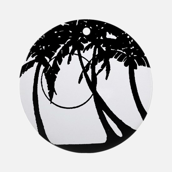 TROPICAL {4} Ornament (Round)