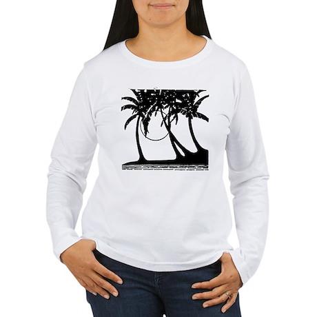 TROPICAL {4} Women's Long Sleeve T-Shirt