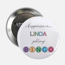 Linda BINGO Button