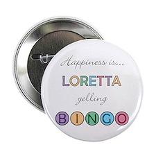 Loretta BINGO Button