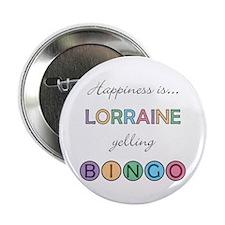 Lorraine BINGO Button