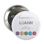 Luann BINGO Button