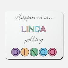 Linda BINGO Mousepad
