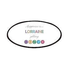 Lorraine BINGO Patch