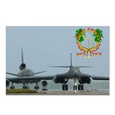 B-1, KC-10 Taxi Out Postcards (Package of 8)
