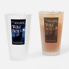 Cute Teen wolf Drinking Glass
