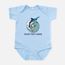 CUSTOMIZABLE MARLIN SHIRT Infant Bodysuit