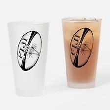 Fiji Rugby Ball Drinking Glass