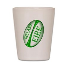 Eire Ireland Rugby Shot Glass