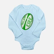 Eire Ireland Rugby Long Sleeve Infant Bodysuit