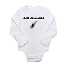 New Zealand Rugby Long Sleeve Infant Bodysuit