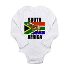 South Africa Springbok Long Sleeve Infant Bodysuit