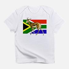 South Africa Springbok Flag Infant T-Shirt
