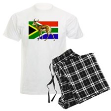South Africa Springbok Flag Pajamas