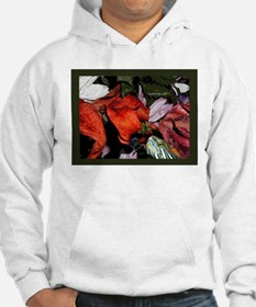 Red Eared Slider Turtle and Flowers Hoodie