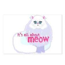 Its All About MEow Postcards (Package of 8)