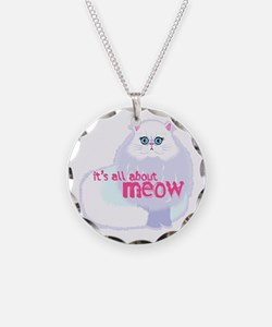 Its All About MEow Necklace
