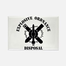 EOD logo Rectangle Magnet