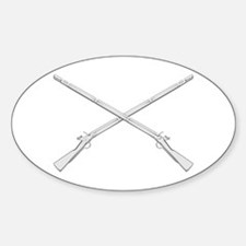 Crossed Muskets Decal