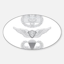CFMB Flight Surgeon Airborne Sticker (Oval)
