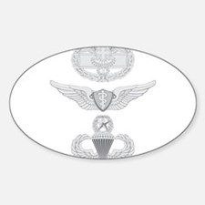 Cute Flight surgeon Sticker (Oval)