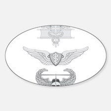EFMB Flight Surgeon Air Assault Sticker (Oval)