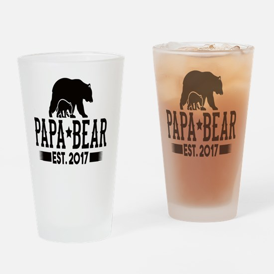 Unique New dad Drinking Glass