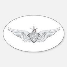 Senior Flight Surgeon Sticker (Oval)