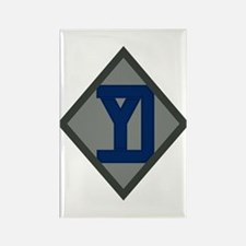 26th Infantry Yankee Div Rectangle Magnet