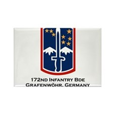 172nd Blackhawk Bde Rectangle Magnet