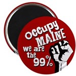 Occupy Maine Fridget Magnet