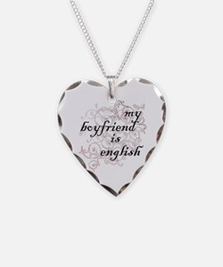 My Boyfriend is English Necklace