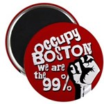 Occupy Boston Protest Magnet