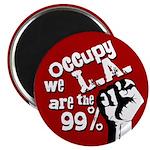 Occupy LA Los Angeles Protest Magnet