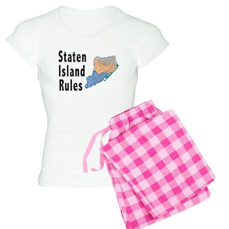 Staten Island Rules Women's Light Pajamas