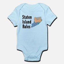 Staten Island Rules Infant Bodysuit