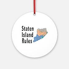 Staten Island Rules Ornament (Round)