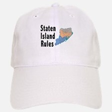 Staten Island Rules Baseball Baseball Cap