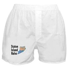 Staten Island Rules Boxer Shorts