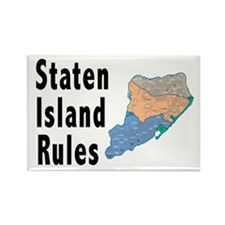 Staten Island Rules Rectangle Magnet