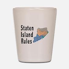 Staten Island Rules Shot Glass